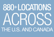 870+ Locations Across the US and Canada
