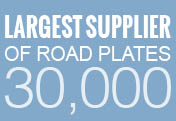 Largest Supplier of Road Plates 30,000