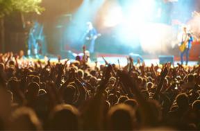 Festivales y conciertos al aire libre