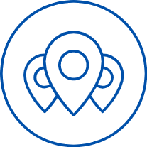 geolocation pins icon