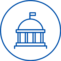government building icon