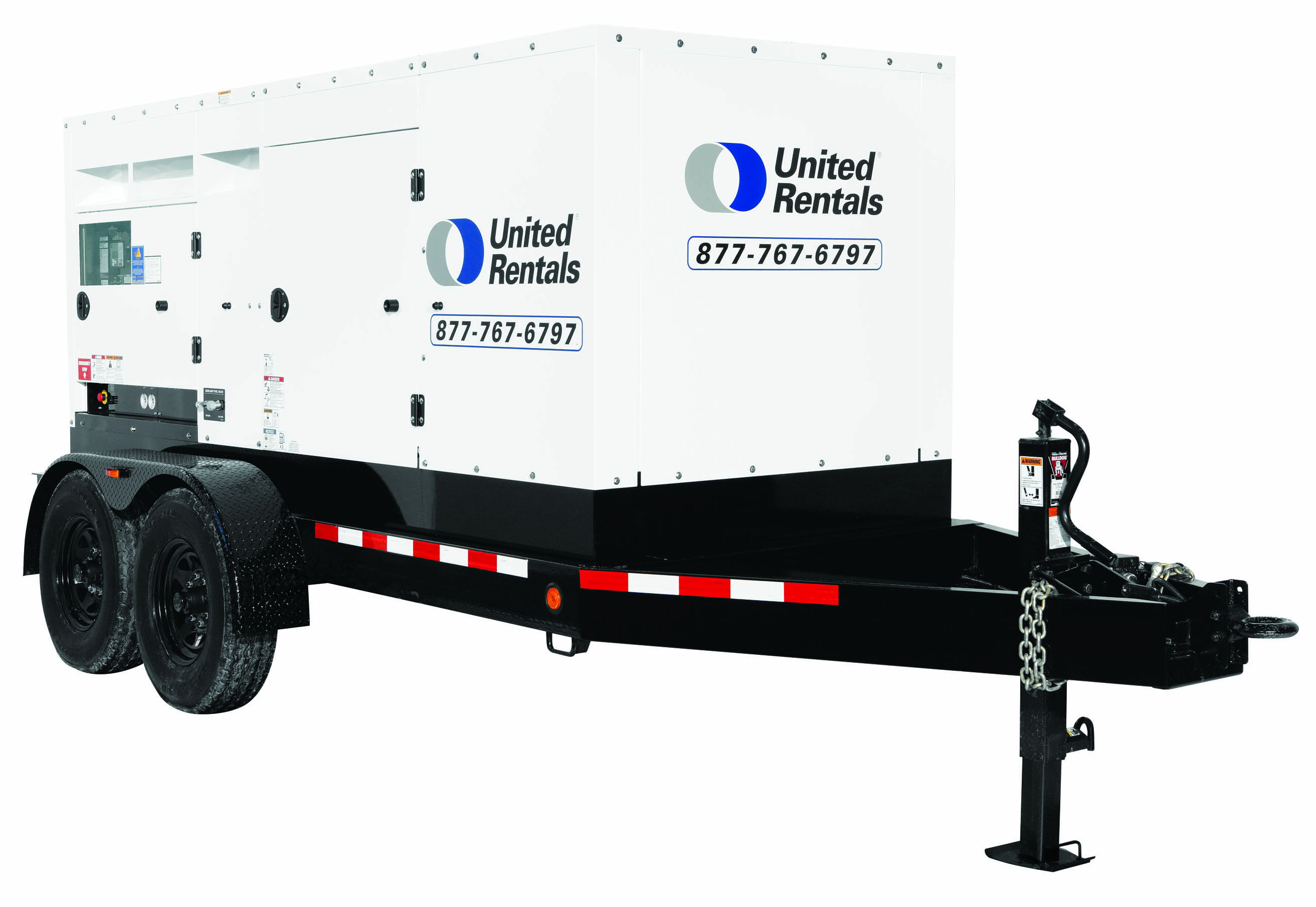 Diesel and Gas Power Generators for Rent | United Rentals