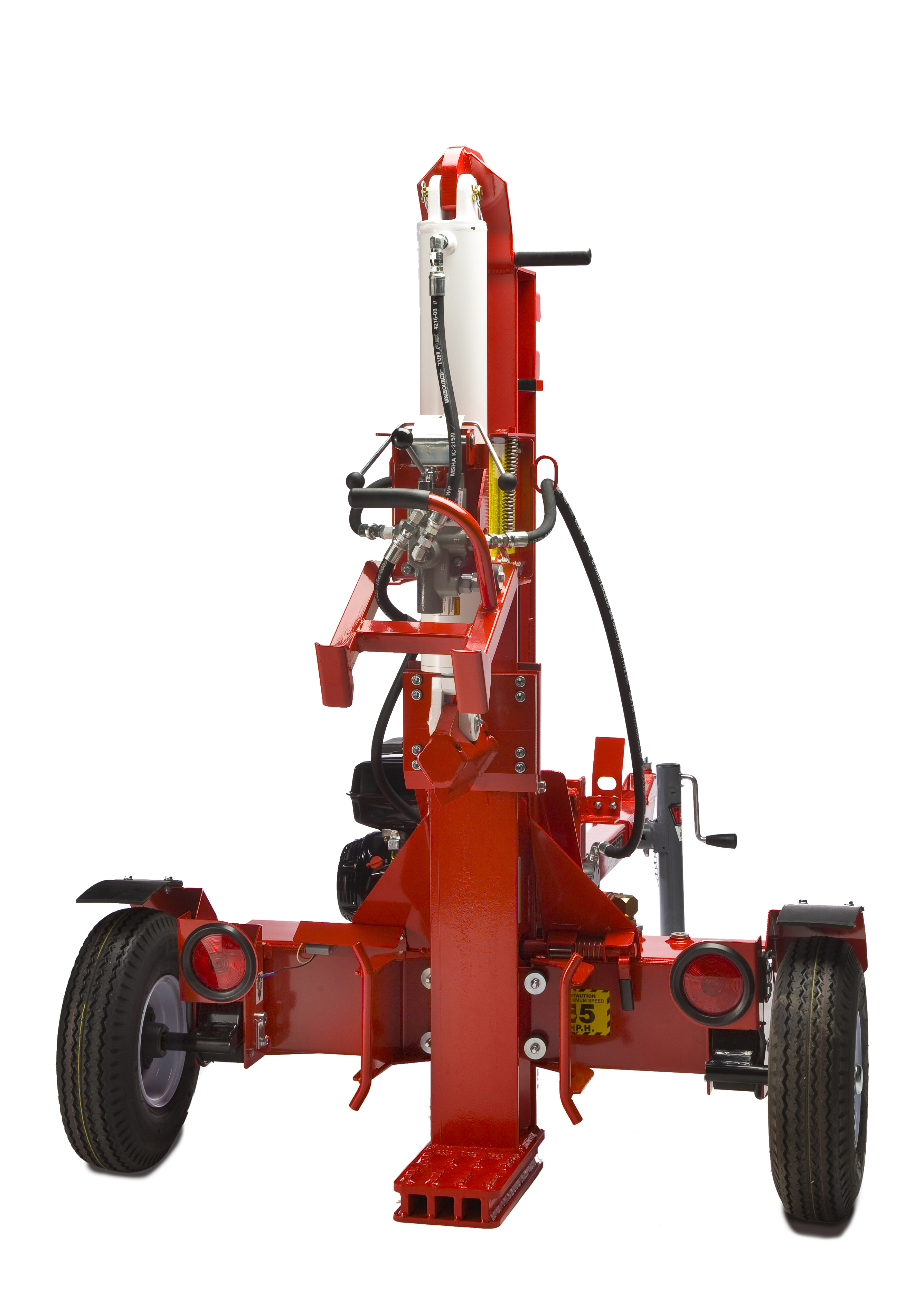 Hydraulic Log Splitter, Gas for Rent - United Rentals