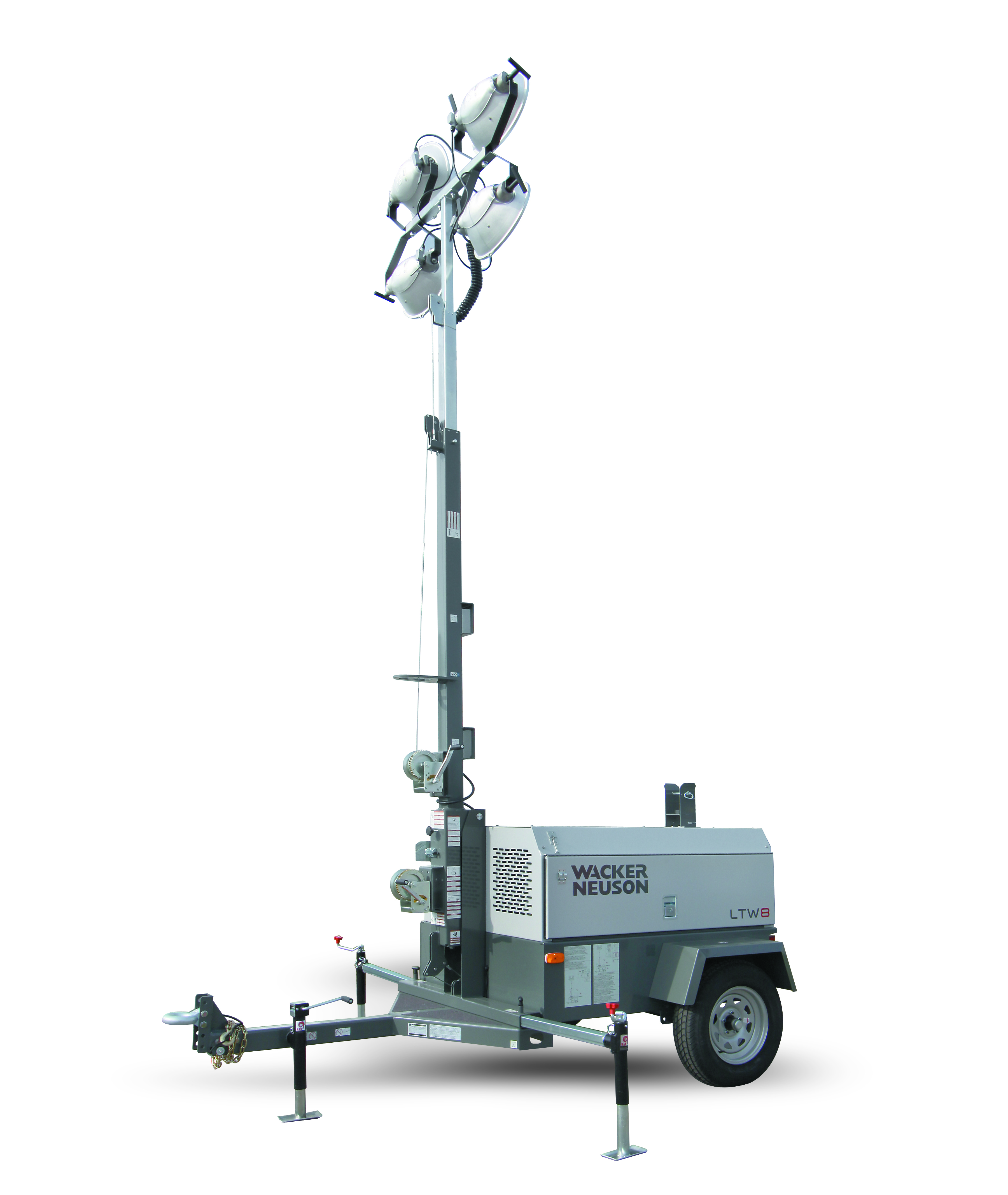 Towable Light Tower with 8 15kW Generator for Rent United Rentals