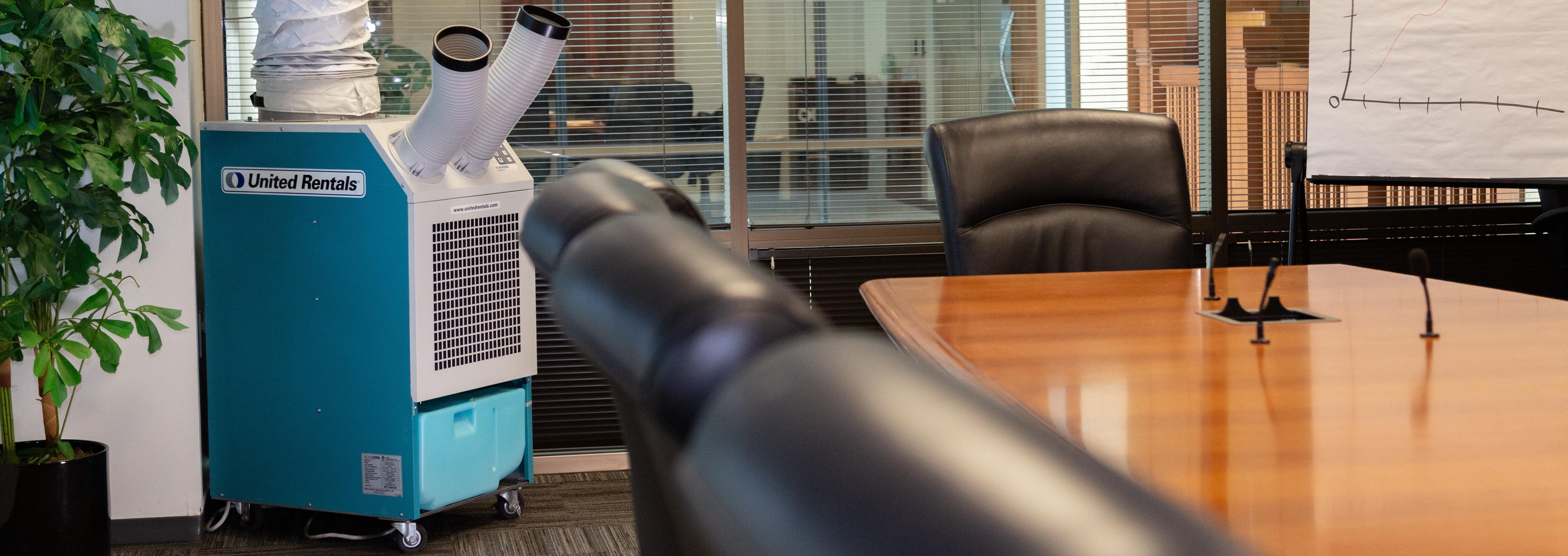 spot cooler in office room