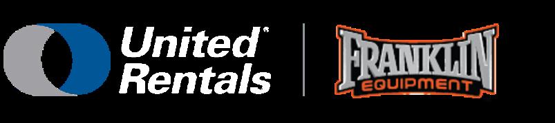 united rentals franklin equipment logo