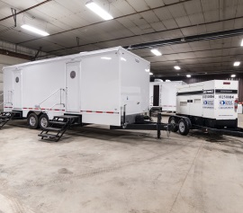 20 foot 7 stall trailer