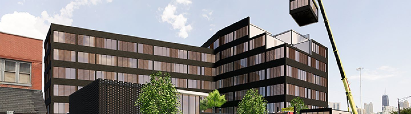 For Multifamily Residential, Modular Construction Is 'Red Hot