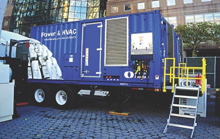 Power Generator Trailer