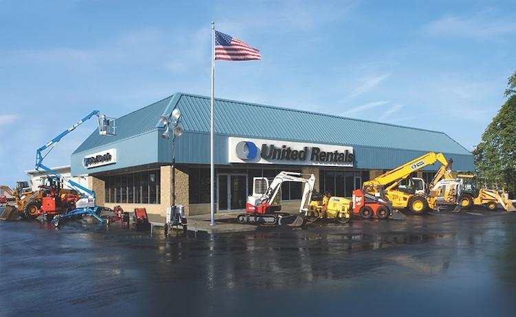 united rentals branch