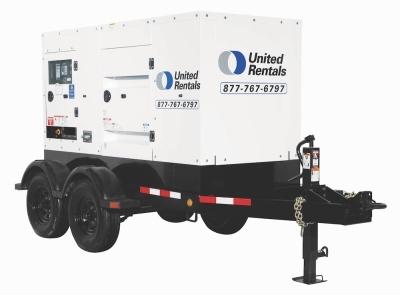 100 KW Generator for Rent - United Rentals