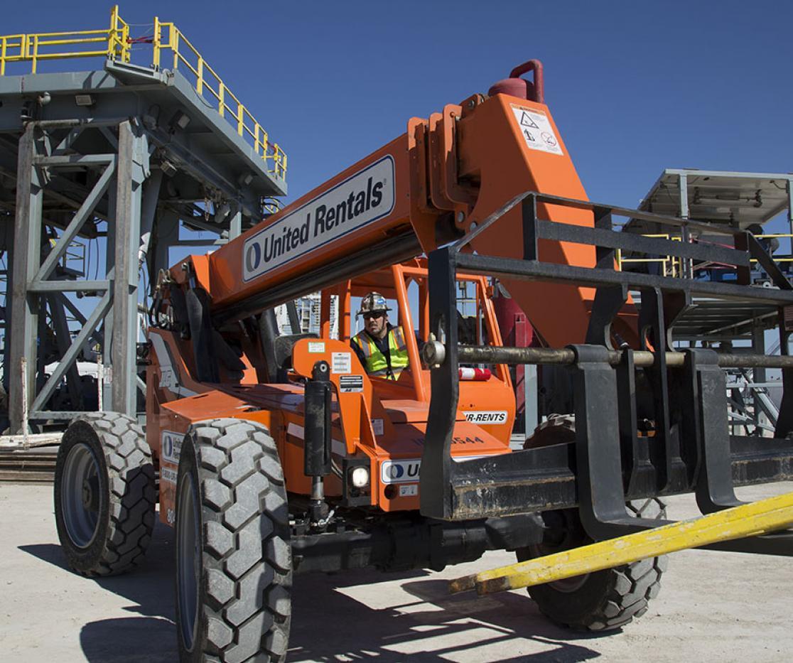 Aparment Rent: Industrial & Construction Equipment