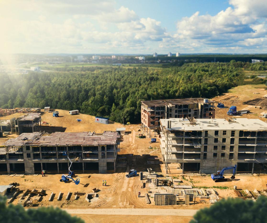 Apartment Rental: Industrial & Construction Equipment