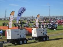 PGA Tournament with UR equipment
