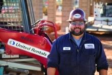 United Rentals employee