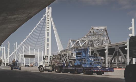 bridge construction jobsite