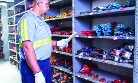 choosing parts and tools
