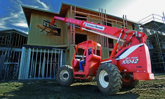 building on a jobsite