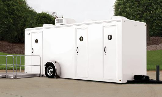 Luxury Restroom Trailer with ADA Access