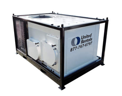 5 Ton Air Conditioner With Heat 480v Electric Powered For Rent United Rentals