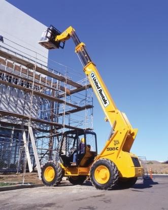 Telehandler Reach Forklift 40 Ft 49 Ft 8 000 Lbs For Rent United Rentals
