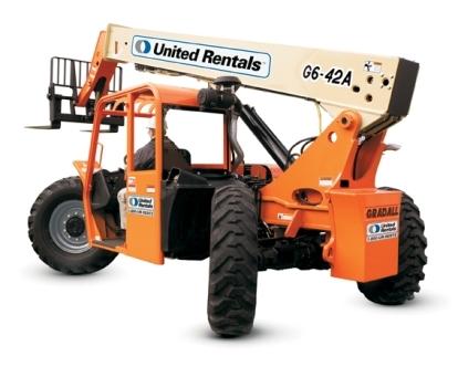 Telehandler Reach Forklift 40 Ft 49 Ft 6 000 Lbs For Rent United Rentals