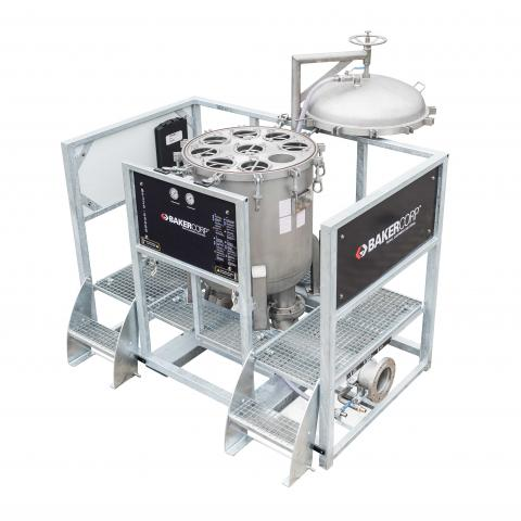 8-Bag Filter System 320 SS -Top view