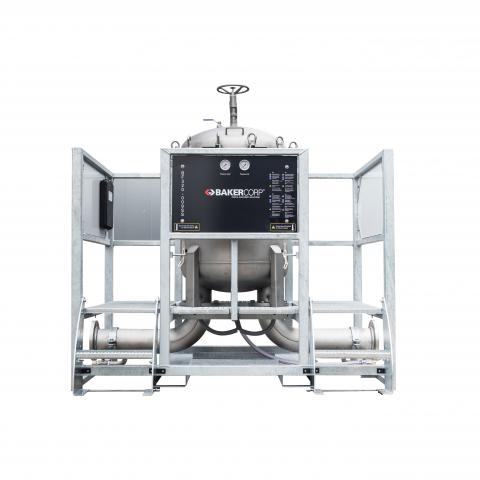 8-Bag Filter System 320 SS - Front view